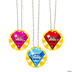 Treasure Hunt VBS Dog Tag Necklaces