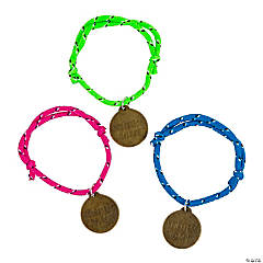 Treasure Hunt VBS Engraved Charm Friendship Bracelets