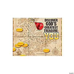 Treasure Hunt VBS Handout Sheets