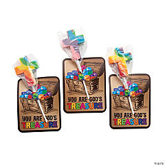 Treasure Hunt VBS Lollipops with Card