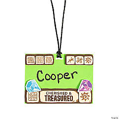 Treasure Hunt VBS Name Tag Necklace Craft Kit