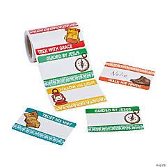 Treasure Hunt VBS Name Tags/Labels