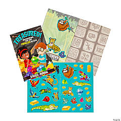Treasure Hunt VBS Passport Sticker Books