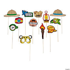 Treasure Hunt VBS Photo Stick Props