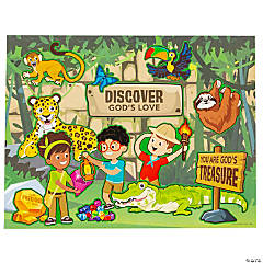 Treasure Hunt VBS Sticker Scenes