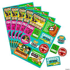 Treasure Hunt VBS Sticker Sheets