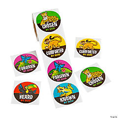 Treasure Hunt VBS Stickers