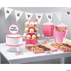 Treat Table Candy Pink Decorating Kit