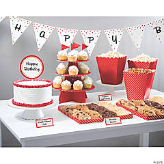 Treat Table Classic Red Decorating Kit