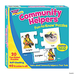 TREND enterprises, Inc. Community Helpers Fun-to-Know® Jigsaw Puzzles