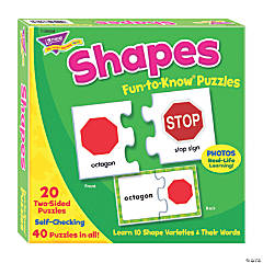 TREND enterprises, Inc. Shapes Fun-to-Know® Jigsaw Puzzles