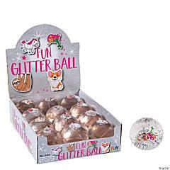 Trending Icon Glitter Bouncing Balls