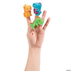 Trendy Dinosaur Finger Puppets