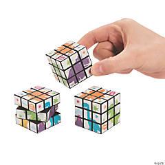 Trendy Dinosaur Mini Puzzle Cubes