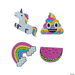 Trendy Rhinestone Sticker Set