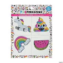 Trendy Rhinestone Sticker Set