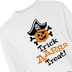 Trick-or-Treat Youth Long Sleeve T-Shirt - Extra Small