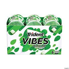 TRIDENT Vibes Spearmint Sugar-Free Gum, 40 Pieces, 6 Pack