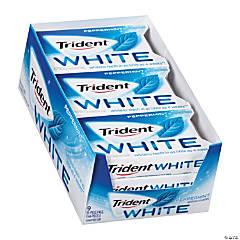 Trident White Peppermint Sugar-Free Gum - 9 Pack