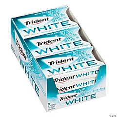 Trident White Wintergreen Sugar-Free Gum, 16 Pieces, 9 Count