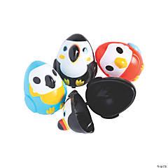 Tropical Bird Plastic Easter Eggs - 12 Pc.