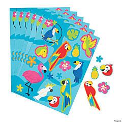 Tropical Bird Sticker Sheets