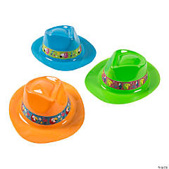 Tropical Birds Fedora Hats