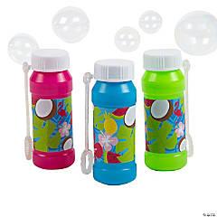 Tropical Bubble Bottles - 12 Pc.