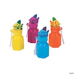 Tropical Fish Bubble Bottles - 12 Pc.