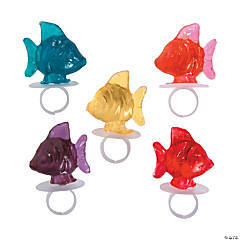 Tropical Fish Ring Lollipops