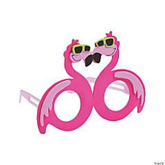 Tropical Flamingo Kids' Glasses Craft Kit