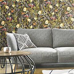 Tropical Flowers Peel & Stick Wallpaper