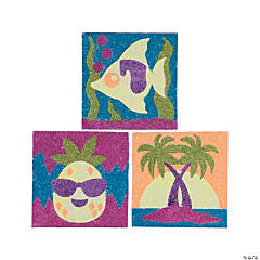 Tropical Glitter Art Pictures