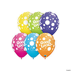 "Tropical Good Luck 11"" Latex Balloons"