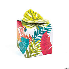 Tropical Leaf Treat Boxes