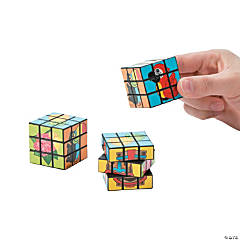 Tropical Luau Mini Puzzle Cubes