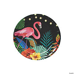 Tropical Nights Paper Dessert Plates - 8 Ct.