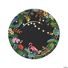 Tropical Nights Paper Dinner Plates - 8 Ct.