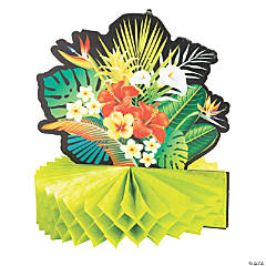 Tropical Nights Party Centerpieces