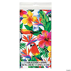 Tropical Palm Luau Tablecloth