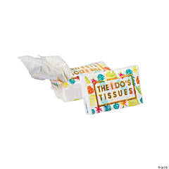 Tropical Print Tissue Favor Packs