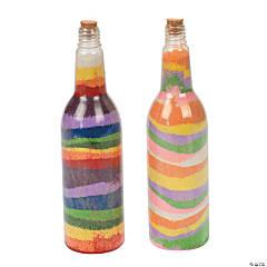 Tropical Sand Art Bottles