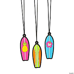 Tropical Surfboard Necklaces