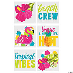 Tropical Vibes Temporary Tattoos