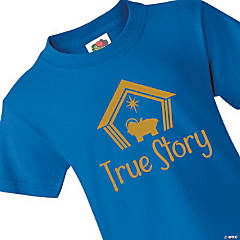 True Story Youth Christmas T-Shirt - Large