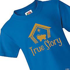 True Story Youth Christmas T-Shirt - Medium