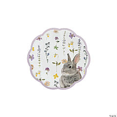 Truly Bunny Dinner Paper Plates - 12 Ct.
