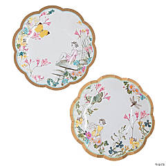 Truly Fairy Paper Dessert Plates - 12 Ct.