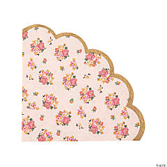 Truly Scrumptious Scalloped Luncheon Napkins