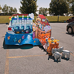 Trunk Or Treat Decorating Ideas For Cars Trucks Oriental Trading